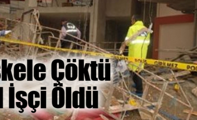 Çankırı'da iskele faciası! 1 kişi öldü