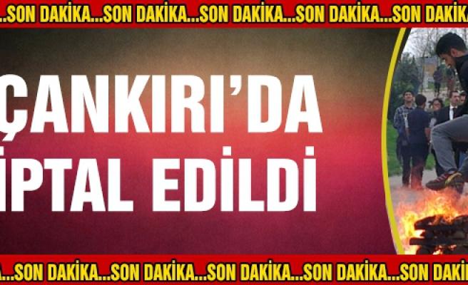 Çankırı'da Nevruz kutlaması iptal edildi!