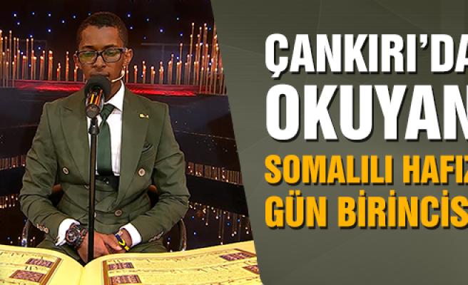 Çankırı'da okuyan Somalili hafız gün birincisi