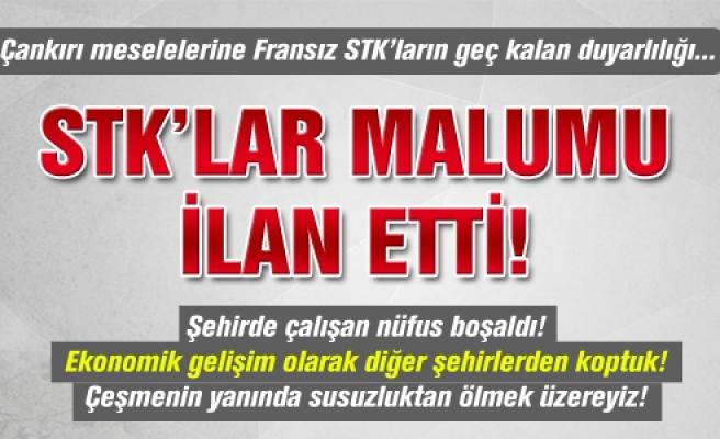 Çankırı'da STK'lar malumu ilan etti!