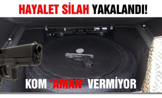 Çankırı'da suikast tabancası ele geçirildi
