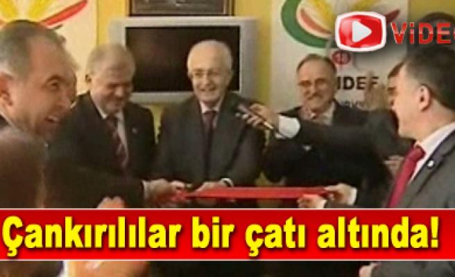 ÇANDEF Genel Merkezi İstanbul Aksarayda açıldı...