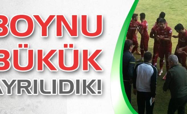 Çankırıspor beş gol yiyerek sahadan boynu bükük ayrıldı!