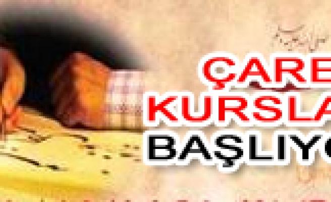 ÇARE de Osmanlıca ve İngilizce yaz kurs kayıtları başladı