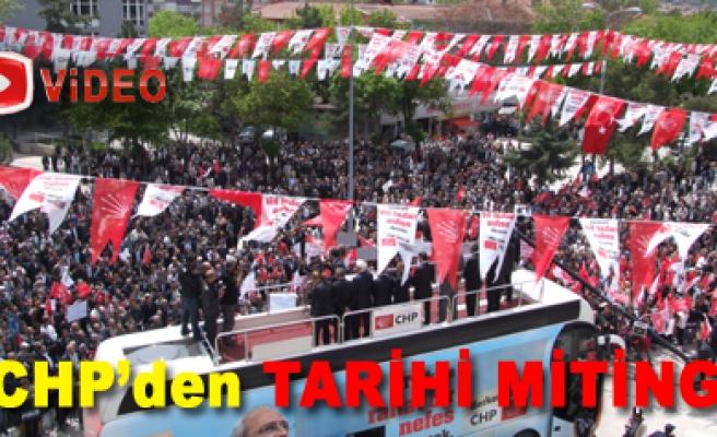 CHP den ÇANKIRIDA TARİHİ MİTİNG