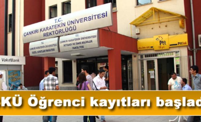Çankırı Karatekin Üniversitesi öğrenci kayıtları başladı