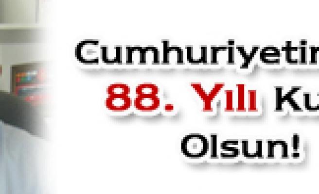 Salim Çivitçioğlunun kutlama mesajı
