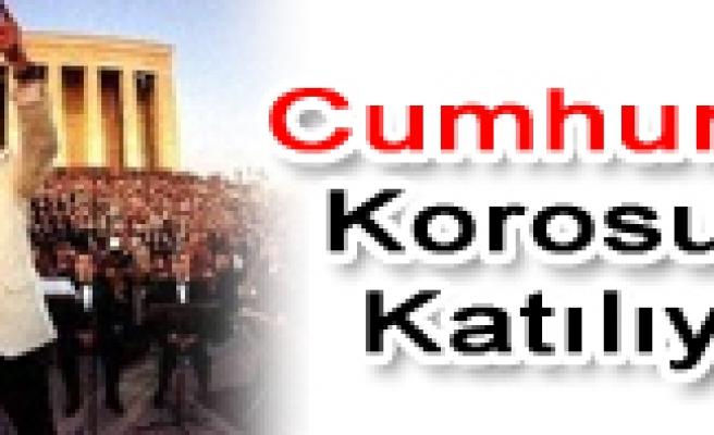 Çankırı Korusu Cumhuriyet konserine katılacak.