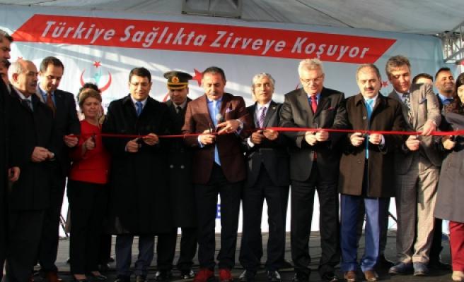Devlet Hastanesi ek binası  hizmete açıldı