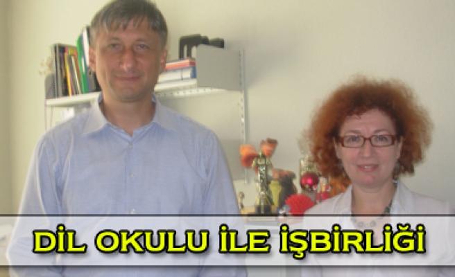 ÇKÜ dil okul ile işbirliğine gidiyor