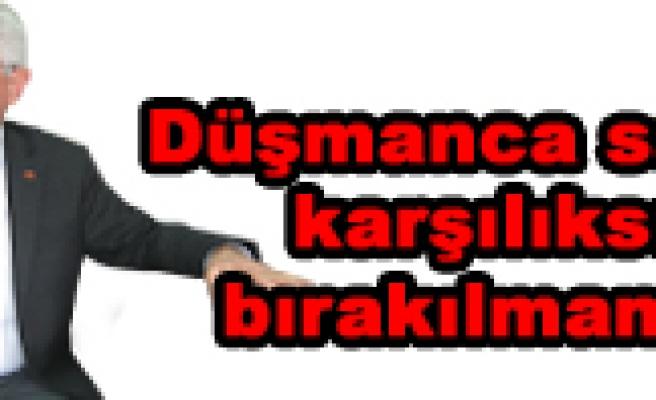 MHP Çankırı Milletvekili Ahmet Bukandan kınam mesajı