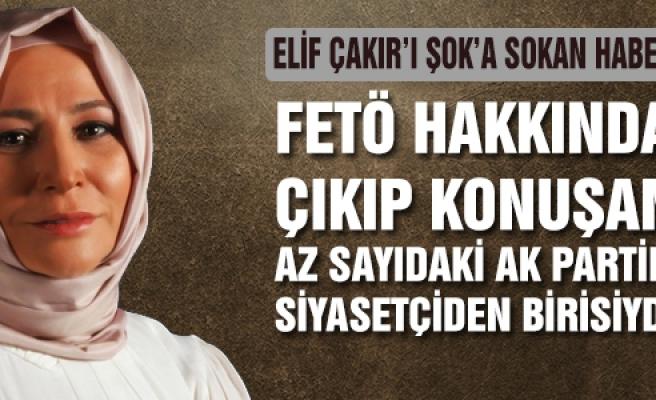 Elif Çakır'a Şahin'in  gözaltı kararı şoku