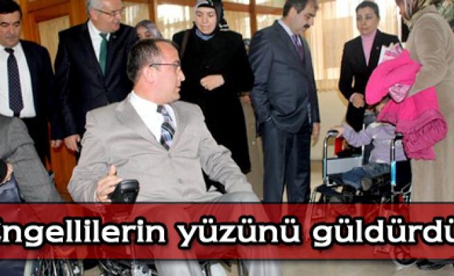Düzbasandan engellilere sandalye