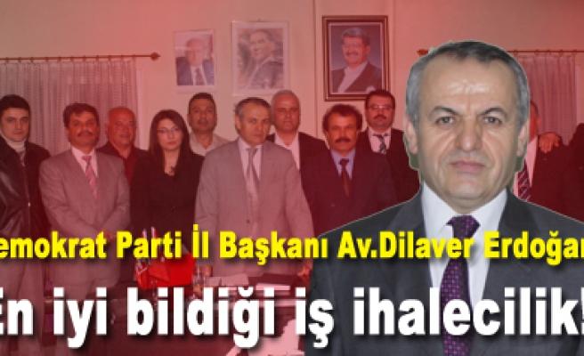 Erdoğan,İktidar ve yandaşlarının en iyi bildiği iş ihalecilik