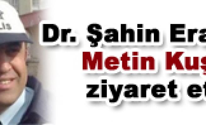 Dr. Şahin Eraslan, yaralı polisimizi ziyaret etti