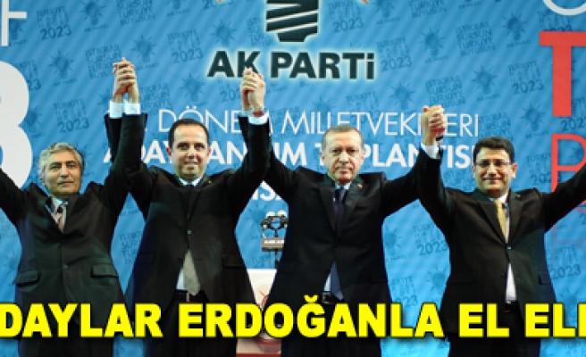 Başbakan Erdoğan adaylarla fotoğraf çektirdi