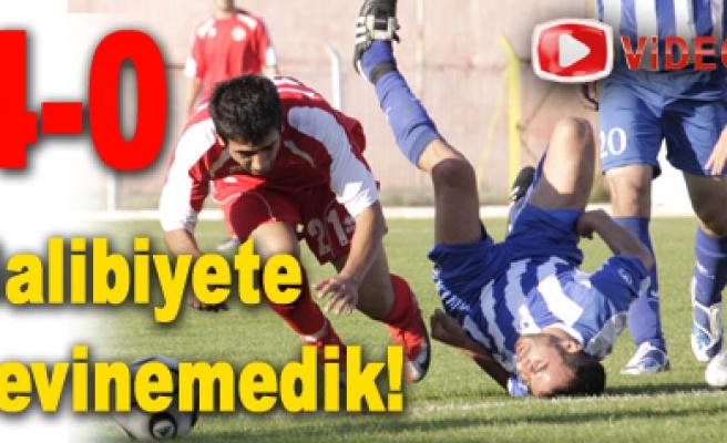 İki yedekle sahaya çıkan Erzurumspor perişan...