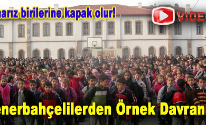 Çankırı Fenerbahçeliler Derneğinden örnek davranış!