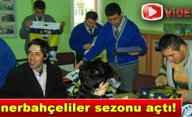 Fenerbahçe Eğitime Destek Timi İş Başında…