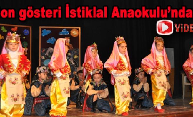 Son etkinlik İstiklal Anaokulundan