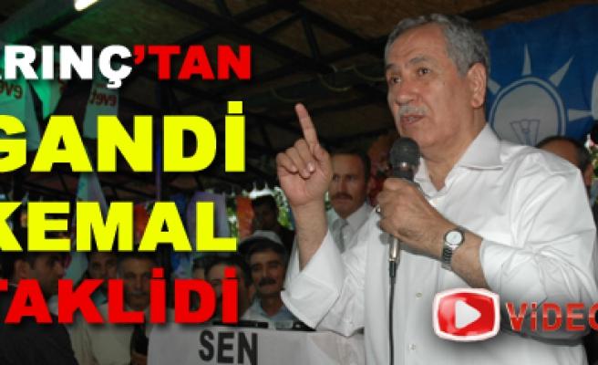 Arınç Çankırıda konştu, Kılıçdaroğlu PKKya yabancı değil!