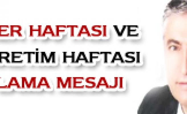 GAZİLER HAFTASI VE İLKÖĞRETİM HAFTASINI KUTLARIM
