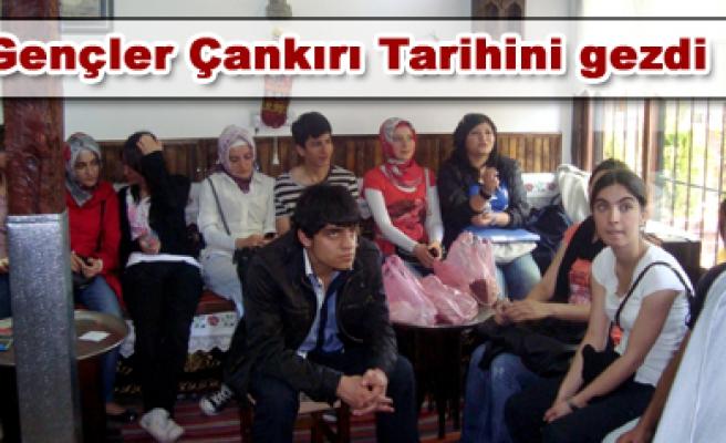 Gençlik Meclisi Çankırı yı gezdi