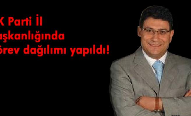 AK Parti İl Başkan yardımcılarını belirledi.