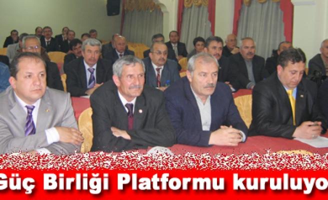 Güç Birliği Platformu kuruluyor...