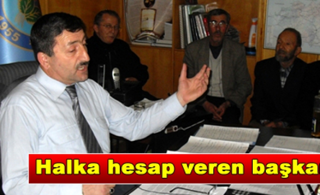 Yapraklı Belediye Başkanı Avşar dan halka açık toplantı…