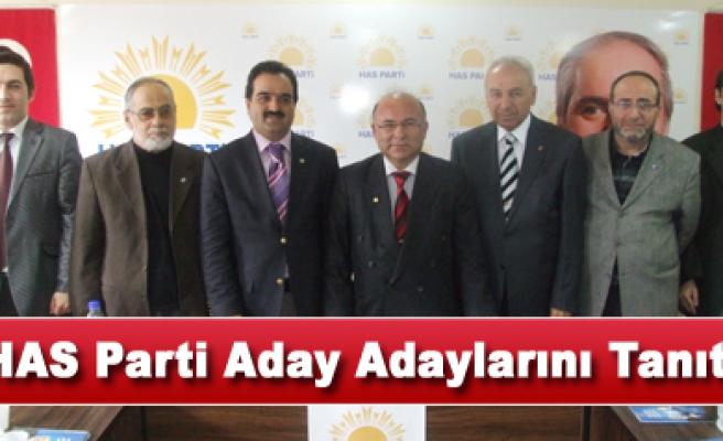 Çankırı HAS Parti aday adaylarını tanıttı