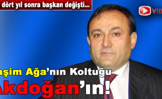 Şoförler ve Otomobilciler odasında başkan Necati Akdoğan...