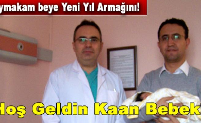 Orta Kaymakamı Fatih Özdemir baba oldu...
