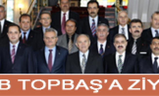 Çankırı Valisi ve Belediye Başkanından Topbaşa ziyaret