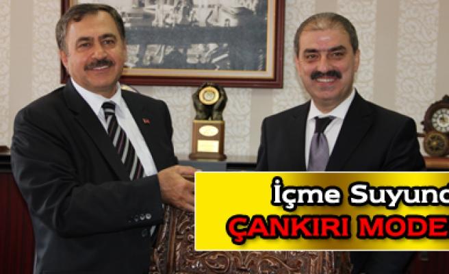 Bakan Eroğlu Belediye Başkanlığını ziyaret etti