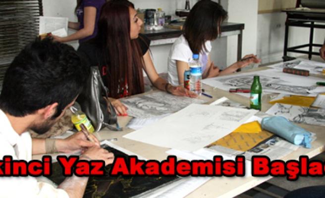Güzel Sanatlar Fakültesi İkinci Yaz Akademisi Başladı