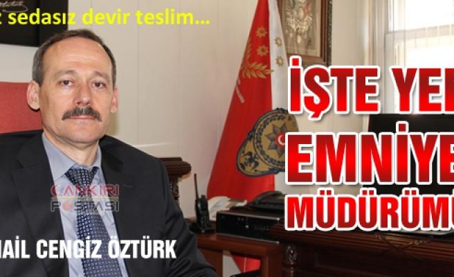 İşte Çankırı'nın yeni Emniyet Müdürü!