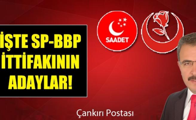 İşte SP-BBP ittifakının sürpriz adayları!