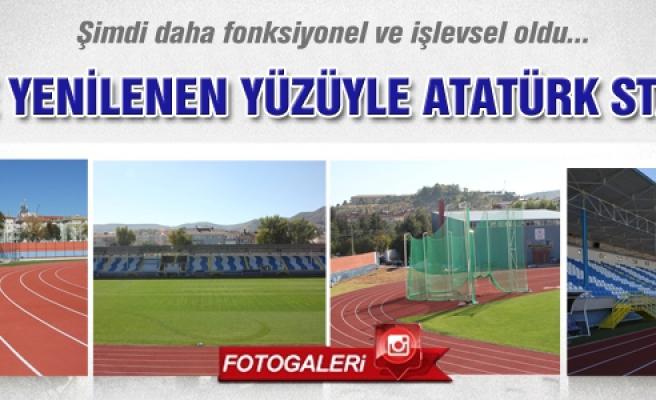 İşte yenilenen yüzüyle Atatürk stadımız!