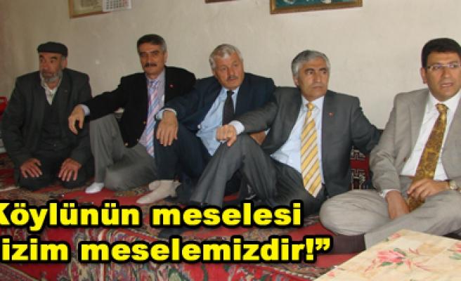 AK Parti Köy Gezilerine Başladı