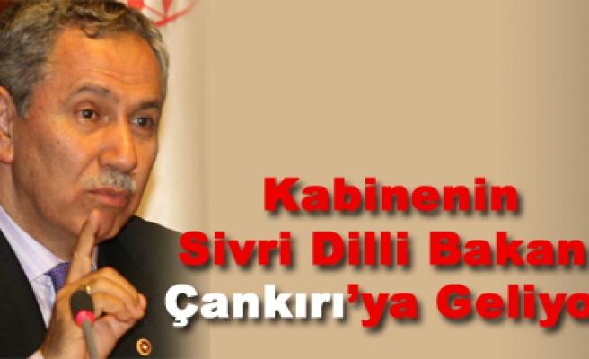 Kabinenin sivri dilli bakanı yarın Çankırı'ya geliyor