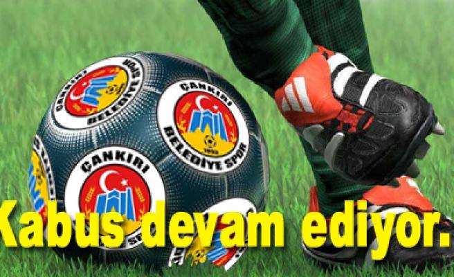 Karsspor, sahasında Çankırı Belediyesporu 1-0 yendi