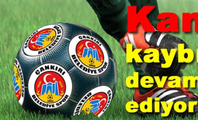 Çankırıbelediyespor 0-0 Pursaklarspor maç sona erdi