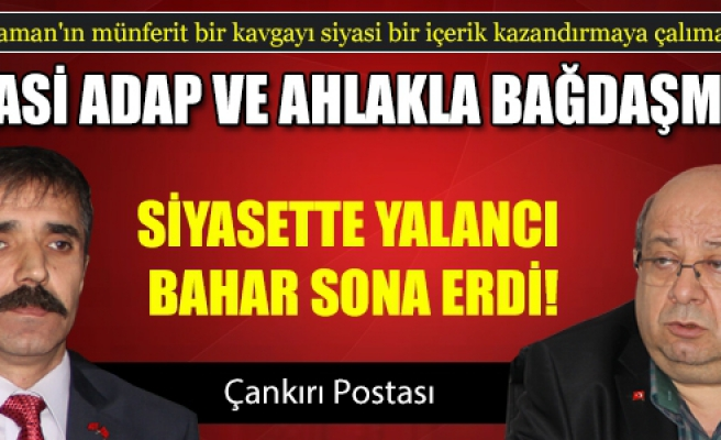 Kapdan' AKP İl Başkanı Kaman yalancıdır!