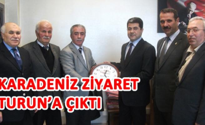 Odaları Birliği Başkanı Osman Karadenizin ziyaret turu