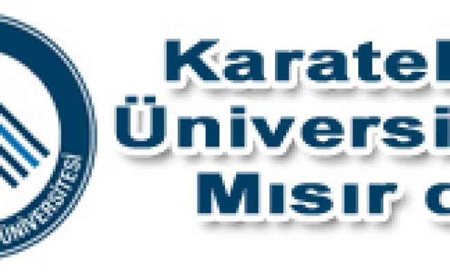 Karatekin Üniversitesi Türkiye Tanıtım Günleri için Mısır da