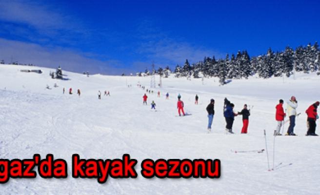 Ilgaz da kayak sezonu açıldı