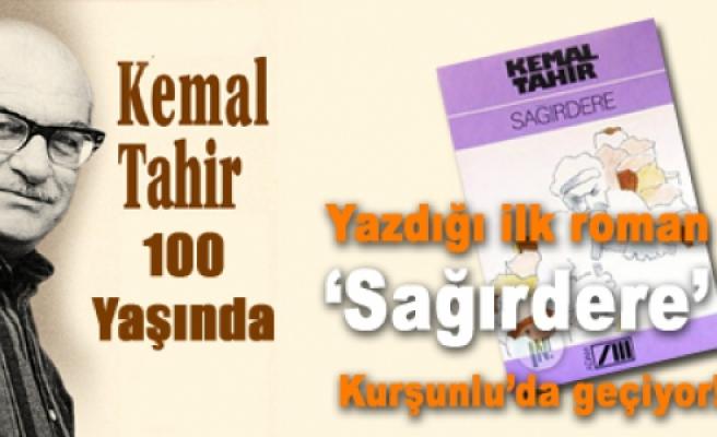Kemal Tahir'in ilk yazdığı roman Kurşunluda geçiyor.