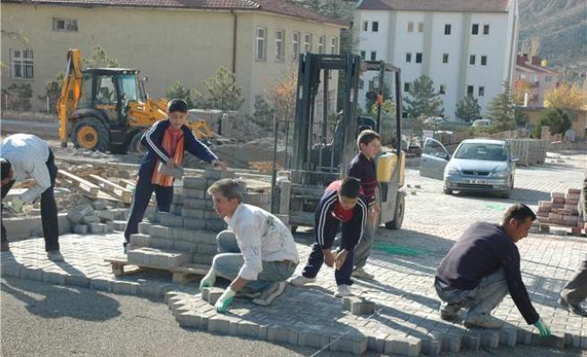 Kırkevlerde Altyapı Çalışmaları Hız Kazandı