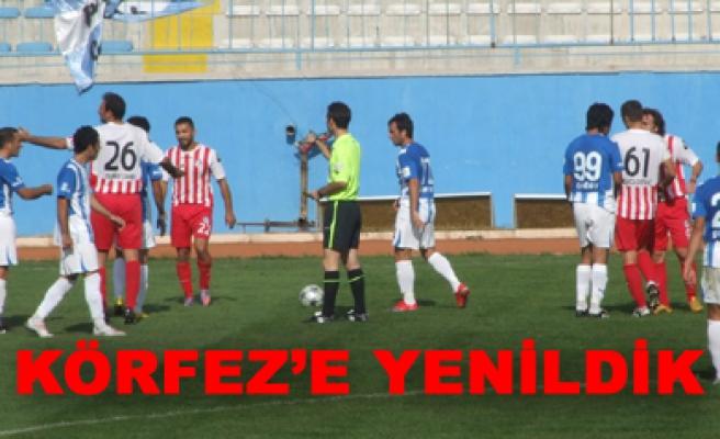 Çankırı Belediyespor – Körfez Spor: 0-1 Maç sona erdi...